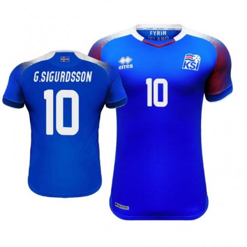 07f5faa32f1 Iceland Gylfi Sigurdsson  10 Jersey BLUE - 2018 World Cup
