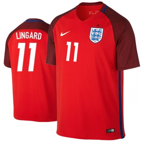 online store f69bd 297d1 England Jesse Lingard #11 Jersey RED - 2018 World Cup