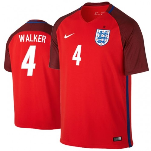 2ddce8576 England Kyle Walker  4 Jersey RED - 2018 World Cup