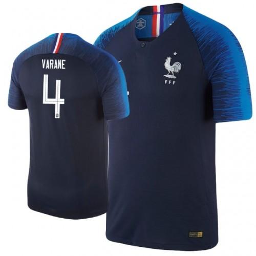 48a157d1c France Raphael Varane  4 Jersey NAVY - 2018 World Cup