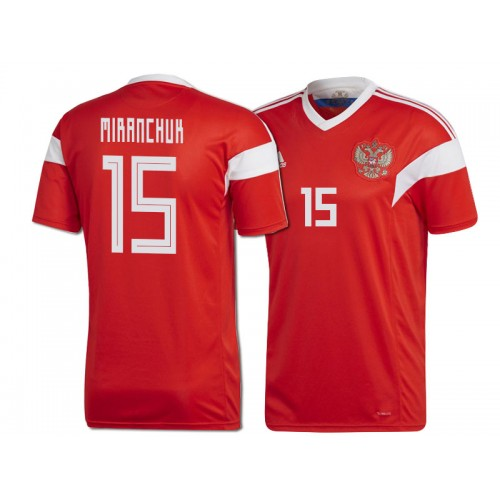 Russia Aleksey Miranchuk  15 2018 World Cup HOME Jersey - RED 443aed56a
