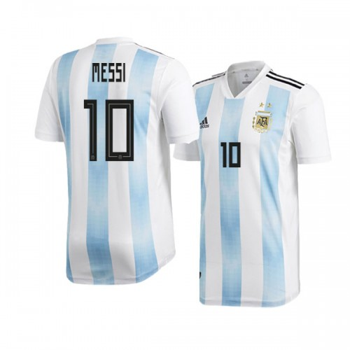a10463630 Argentina Lionel Messi  10 2018 World Cup HOME Jersey - WHITE ...