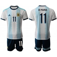 2019/20 Argentina 11 DI MARIA Home Authentic Soccer Jersey