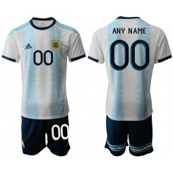 2019/20 Argentina Customized Home Authentic Soccer Jersey