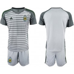 2019/20 Argentina Gray Goalkeeper Authentic Soccer Jersey