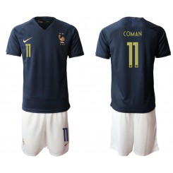 2019/20 France 11 COMAN Home Authentic Soccer Jersey