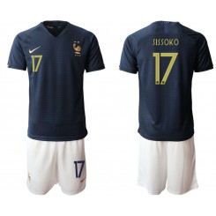 2019/20 France 17 SISSOKO Home Authentic Soccer Jersey