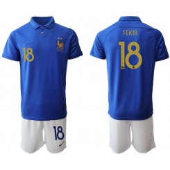 2019/20 France 18 FEKIR 100th Commemorative Edition Authentic Soccer Jersey