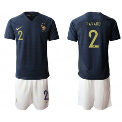 2019/20 France 2 PAVARD Home Authentic Soccer Jersey