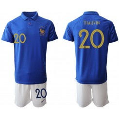 2019/20 France 20 THAUVIN 100th Commemorative Edition Authentic Soccer Jersey