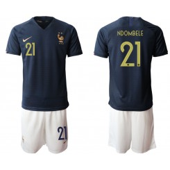 2019/20 France 21 NDOMBELE Home Authentic Soccer Jersey