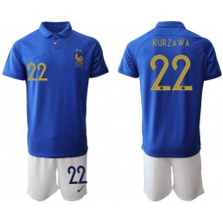 2019/20 France 22 KUR Z A W A 100th Commemorative Edition Authentic Soccer Jersey
