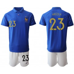 2019/20 France 23 AREOLA 100th Commemorative Edition Authentic Soccer Jersey