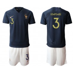 2019/20 France 3 KIMPEMBE Home Authentic Soccer Jersey