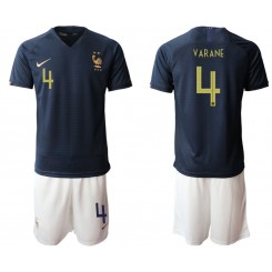 2019/20 France 4 VARANE Home Authentic Soccer Jersey