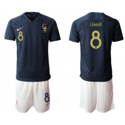 2019/20 France 8 LEMAR Home Authentic Soccer Jersey
