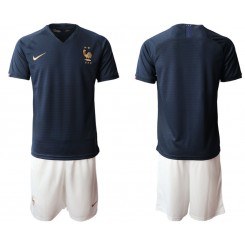 2019/20 France Home Authentic Soccer Jersey