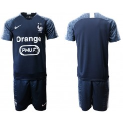 2019/20 France Navy Training Authentic Soccer Jersey