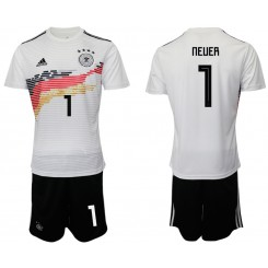 2019/20 Germany 1 NEUER Home Authentic Soccer Jersey