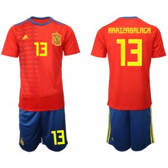 YOUTH 2019/20 Spain 13 ARRISABALAGA Home Authentic Soccer Jersey