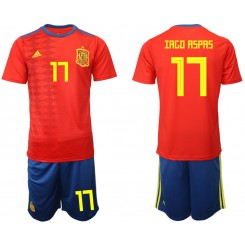 YOUTH 2019/20 Spain 17 IAGO RSPAS Home Authentic Soccer Jersey