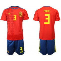 YOUTH 2019/20 Spain 3 PIDUE Home Authentic Soccer Jersey