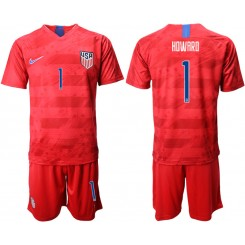 2019/20 USA 1 HDWARD Away Replica Soccer Jersey