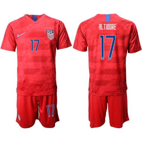 2019/20 USA 17 AL TIIIRE Away Authentic Soccer Jersey
