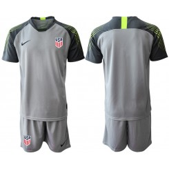 2019/20 USA Gray Goalkeeper Authentic Soccer Jersey