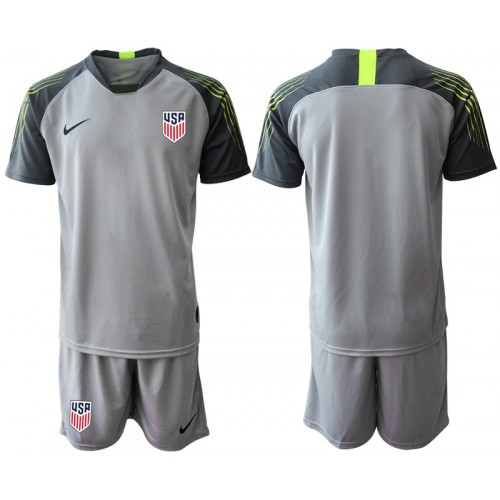 2019/20 USA Gray Goalkeeper Replica Soccer Jersey