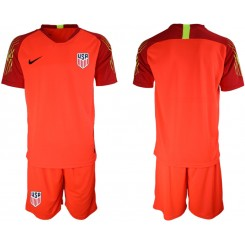 2019/20 USA Red Goalkeeper Authentic Soccer Jersey