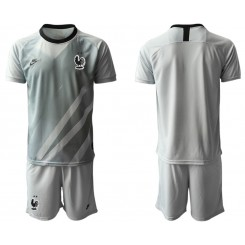 France Gray Goalkeeper UEFA Euro 2020 Authentic Soccer Jersey