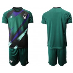 France Green Goalkeeper UEFA Euro 2020 Authentic Soccer Jersey
