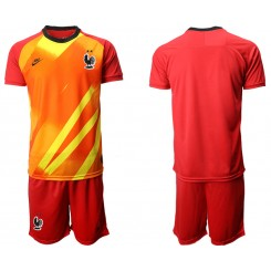 France Red Goalkeeper UEFA Euro 2020 Authentic Soccer Jersey