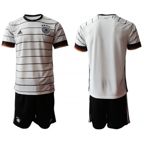 YOUTH Germany Home UEFA Euro 2020 Authentic Soccer Jersey