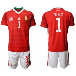 Hungary 1 GULACSI Home UEFA Euro 2020 Authentic Soccer Jersey