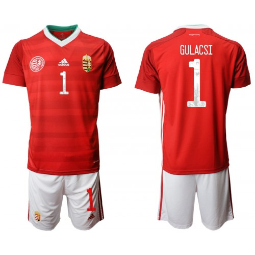YOUTH Hungary 1 GULACSI Home UEFA Euro 2020 Authentic Soccer Jersey