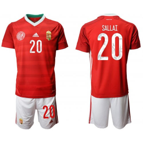 YOUTH Hungary 20 SALLAI Home UEFA Euro 2020 Authentic Soccer Jersey