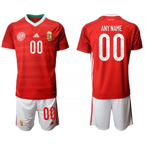 YOUTH Hungary Customized Home UEFA Euro 2020 Authentic Soccer Jersey