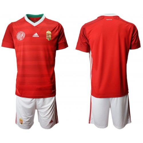YOUTH Hungary Home UEFA Euro 2020 Authentic Soccer Jersey