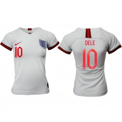England National Soccer Women's Jersey White Home #10 2019 World Cup