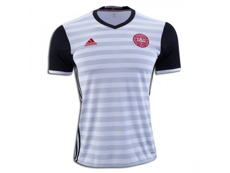 timeless design bdba6 571b1 Denmark Away Football Shirt 2016