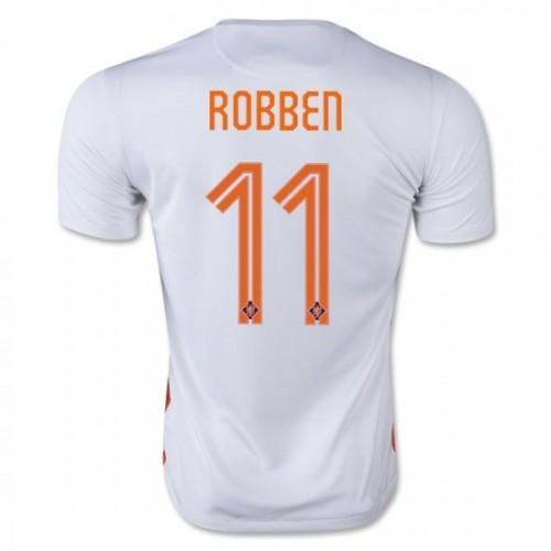 best loved f7762 abc2a Holland National Soccer Team  11 Arjen Robben Away Jersey 2015