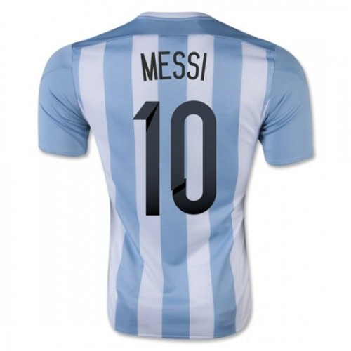 05b683ec7 Argentina National Soccer Team  10 Lionel Messi Home Jersey 2015