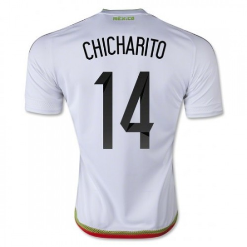 ba9edd1561f buy mexico national soccer team 14 javier chicharito hernandez away jersey  2016 ab01e 19aaf
