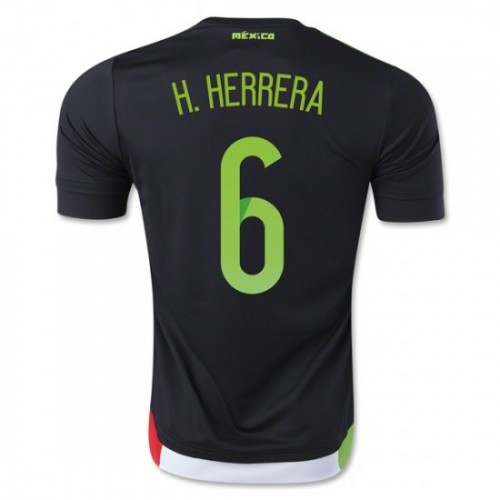 0aa67491cd4 Mexico National Soccer Team #6 Hector Herrera Third Jersey 2016