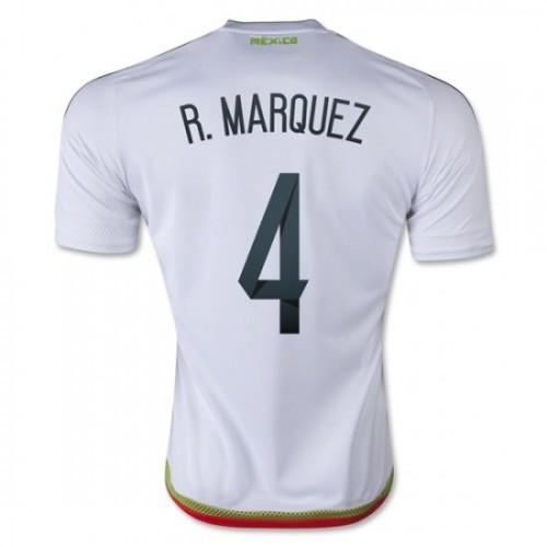 63bc30b3100 Mexico National Soccer Team  4 Rafael Marquez Away Jersey 2016