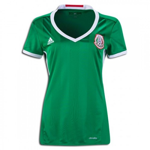 959012619 Women s Mexico National Soccer Team Home Jersey 2016