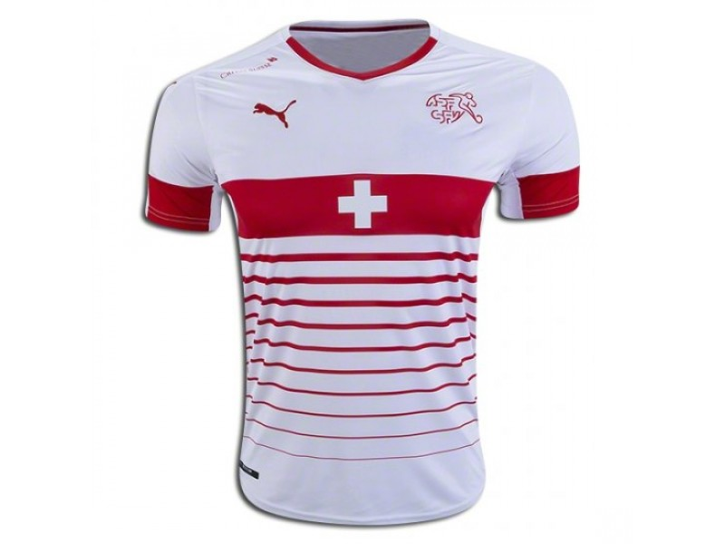 sports shoes cd0a3 c00b3 Switzerland Away Football Shirt 2016