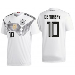 Germany #10 Kerem Demirbay White National Soccer 2018 World Cup Authentic Jersey